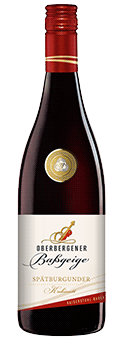 2017 Winzergenossenschaft Oberbergen Spätburgunder Oberbergener Baßgeige Rotwein mild