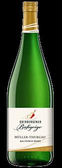 Köstlichalkoholisches - 2019 Oberbergener Baßgeige Müller Thurgau trocken Literflasche, Baden - Onlineshop Ludwig von Kapff