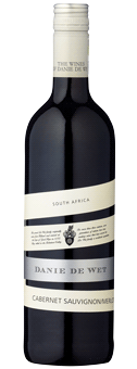 Danie de Wet ''Good Hope'' Cabernet Sauvignon Merlot Wine of Origin Western Cape 2017