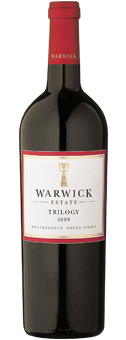 Warwick Estate Trilogy Stellenbosch 2012