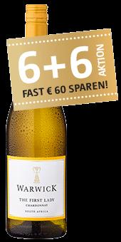 Köstlichalkoholisches - 2019 Warwick Estate The First Lady Unoaked Chardonnay Wine of Origin Western Cape - Onlineshop Ludwig von Kapff