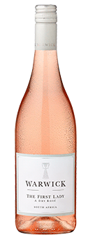 Köstlichalkoholisches - 2019 Warwick Estate The First Lady Dry Rosé Wine of Origin Western Cape - Onlineshop Ludwig von Kapff