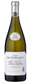 De Wetshof Estate ''Bon Vallon'' Chardonnay Wine of Origin Robertson 2017