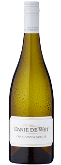 Danie de Wet Chardonnay Matured on the Lees Wine of Origin Robertson 2017