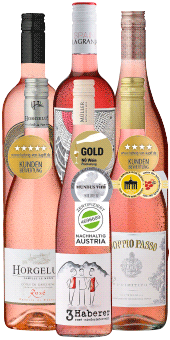 6er Probierpaket »Rosé-Zauber« Jetzt 33% sparen!