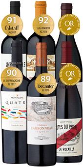 6er Probierpaket »Die Kunst der Rotwein-Cuvées« Sparen Sie 22%