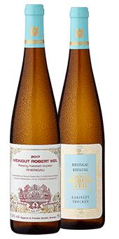 2017 Robert Weil Rheingau Riesling - weißer Schafferwein 2019