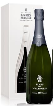 1995 Charles Heidsieck Blanc des Millénaires Champagner