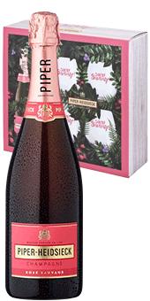 Piper-Heidsieck Rosé Sauvage Geschenk-Set