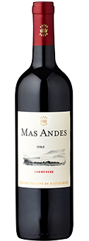 2017 Mas Andes Carmenere