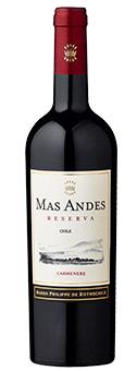 2017 Mas Andes Reserva Carmenère
