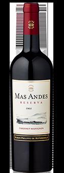 2017 Mas Andes Reserva Cabernet Sauvignon