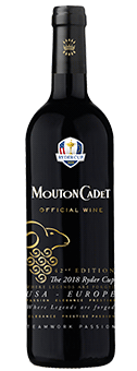 2016 Rothschild Mouton Cadet Rouge - Ryder Cup Edition