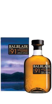 1991 Balblair 1991 3rd Release Whisky