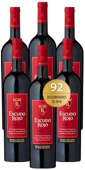 2016 Escudo Rojo Cuvée im 6er Vorratspaket