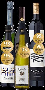 6er-Premium-Paket »Große Weine legendärer Herkünfte«