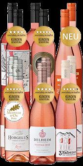 12er Probierpaket »Uns geht's Rosé«