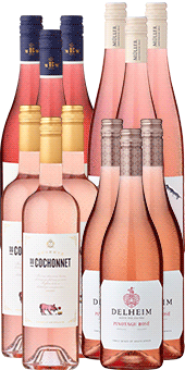 12er Probierpaket »Uns geht's Rosé - le Rosé mon amour«