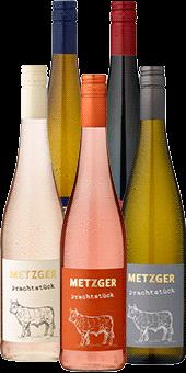 5er Probierpaket »Weingut Metzger: Perfekt zugeschnittene Prachtstücke für die Weinprobe daheim«