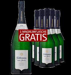 Geldermann Grand Rosé 5 Fl. + 1 Magnumflasche GRATIS