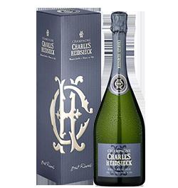 Champagner Charles-Heidsieck Brut Réserve in Geschenkverpackung