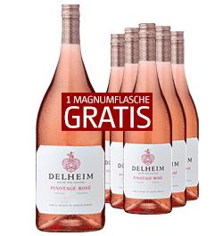 2018 Delheim Pinotage Rose