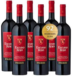 2017 Rothschild Escudo Rojo Cuvée im 6er Vorratspaket