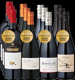 12er Probierpaket »Weinparadies Frankreich«
