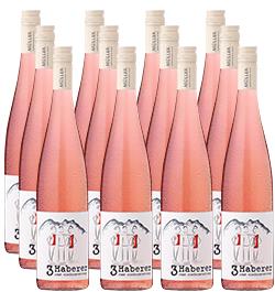 »3 Haberer« Rosé im 12er Vorratspaket