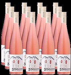 2018 »3 Haberer« Rosé im 12er Vorratspaket