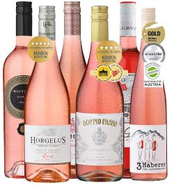 6er Probierpaket »Rosé-Zauber«