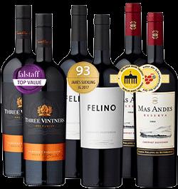 6er Probierpaket »100% Cabernet Sauvignon«