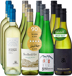 12er Probierpaket »Die beliebtesten Weißweinklassiker für den Sommer«
