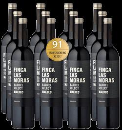2018 Finca Las Moras Barrel Select Malbec im 12er Vorratspaket