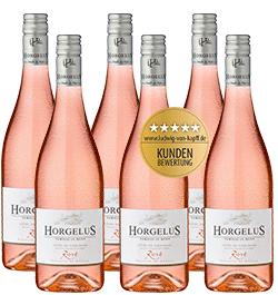 2018 Horgelus Rosé im 6er Vorratspaket