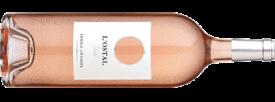 L'Ostal Rosé in der Magnumflasche