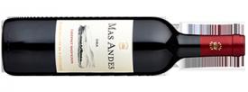 2016 Mas Andes Cabernet Sauvignon