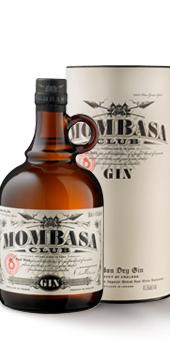 Mombasa Club Premium Gin In der attraktiven Geschenkverpackung