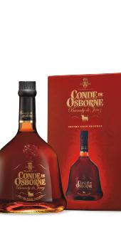 Conde de Osborne Cristal Brandy Brandy de Jerez...