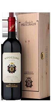 Nipozzano Riserva in der Magnumflasche Chianti Rufina DOCG 1,5 Literflasche IN DER ATTRAKTIVEN HOLZKISTE 2014
