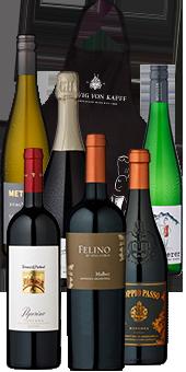 Probierpaket Wein und Speisen Sie sparen 25%!