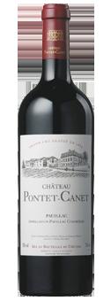 Köstlichalkoholisches - 2011 Château Pontet Canet 5éme Cru Classé Pauillac AOC in der 6er Holzkiste - Onlineshop Ludwig von Kapff