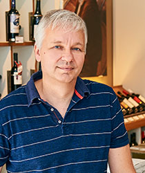 Dr. Frank Nolte aus dem Ludwig von Kapff Weinlager Schwachhausen