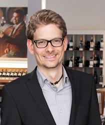 Michael Wilpsbäumer aus dem Ludwig von Kapff Weinlager Am Stadtpark