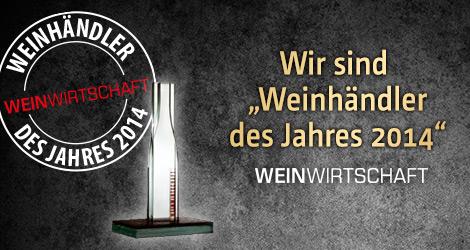 Ludwig von Kapff - Weinhändler des Jahres 2014