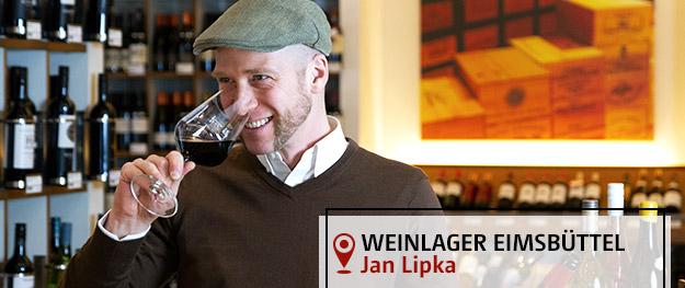 Weinlager Eimsbüttel Filialleiter Jan Lipka