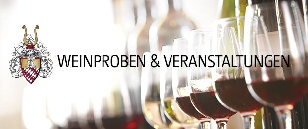Weinproben und Veranstaltungen bei Ludwig von Kapff