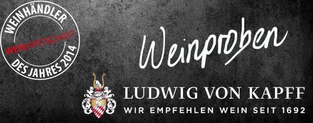 Weinproben im Ludwig von Kapff Weinlager Speicher I