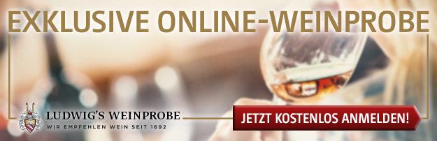 Exklusive Online-Weinprobe