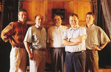 Etienne, André, Jean, Jean-Philippe und Marc: Die 11. und 12. Generation Hugel
